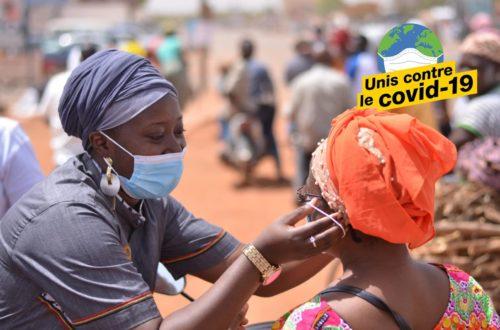 Article : Malika la Slameuse, une artiste engagée dans la lutte contre le coronavirus